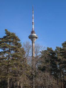 Transfert de la tour TV de Tallinn